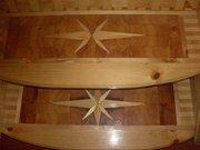 деревянная простая и мозаичная лестница на любой вкус качество гарант